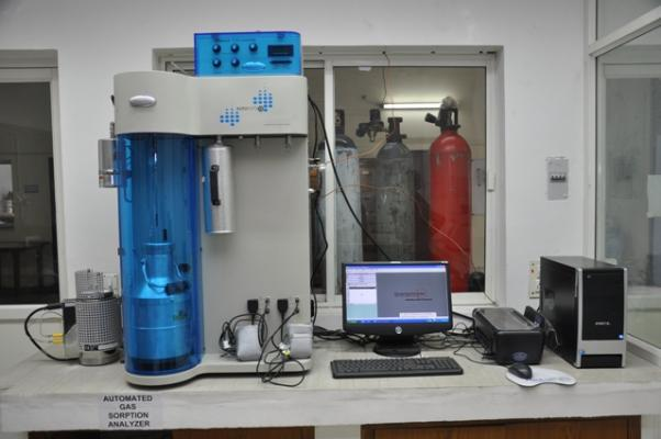 Automated Gas Sorption Analyzer
