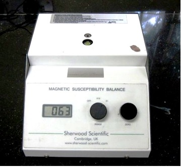 Magnetic Susceptibility Balance (Sherwood Scientific Ltd.)