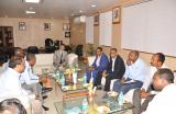 Visit of Ethiopian delegation on 16th June 2017