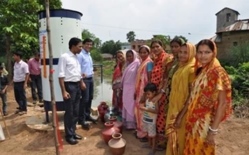 Process Development for Removal of Iron from Groundwater