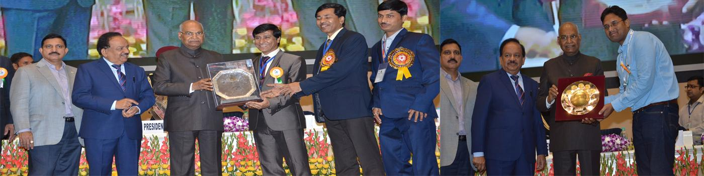 CSIR-CMERI Bagged CSIR Technology Award & CSIR Young Scientist Award for the year 2017
