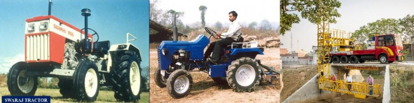 CMERI Developed Farm Machineries