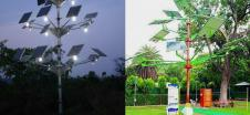 Solar Power Tree